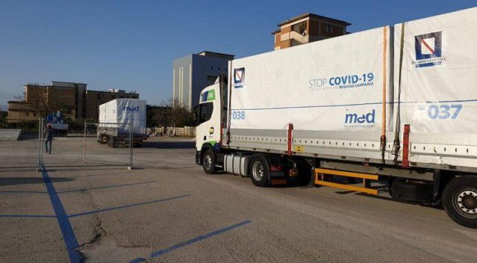 Covid 19 a Caserta: l'ospedale modulare sarà completato la prossima settimana