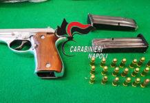 Castellammare di Stabia, pistola e droga in box auto: arrestati zio e nipote