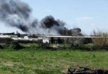 Vasto incendio a Licola: in fiamme vari rifiuti pericolosi