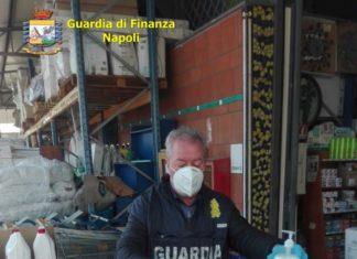 Controlli GdF anti Coronavirus: sequestrati oltre 6000 igienizzanti (VIDEO)