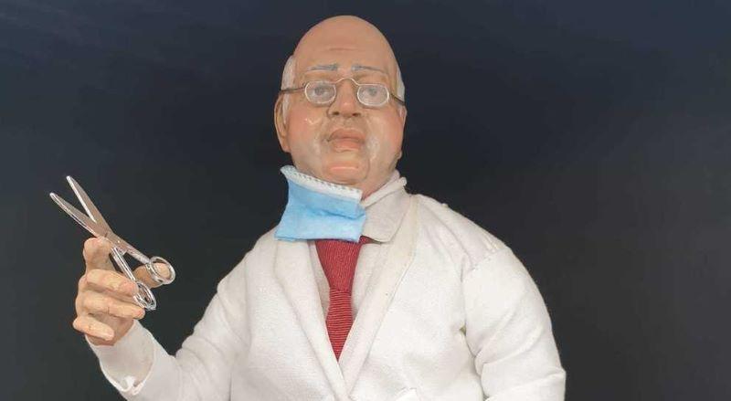 Paolo Ascierto, l'omaggio di De Cicco: il medico diventa statuetta del presepe