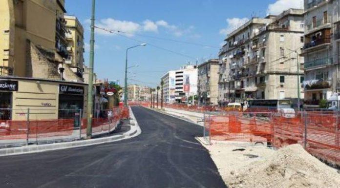 Napoli, cantiere di via Marina: dispositivo di traffico temporaneo