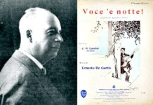 """Edoardo Nicolardi, nel segno della sua celebre canzone """"Voce 'e notte"""""""