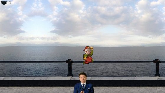 E' virale il nuovo videogames di De Luca nei panni di Mario Bros