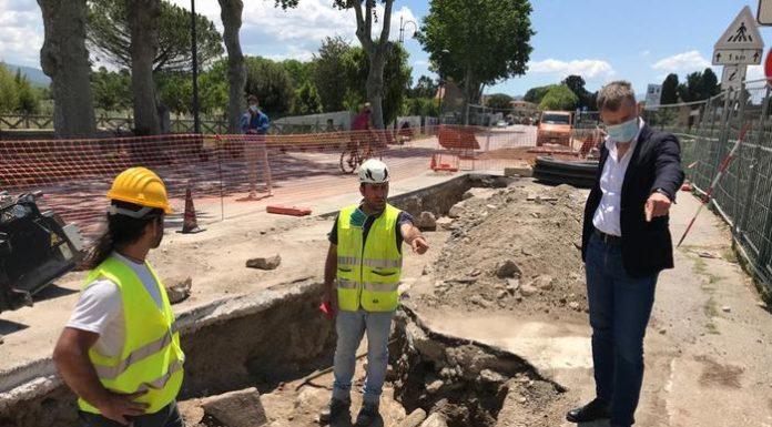 Paestum, riemergono i resti di 'Porta Aurea' durante uno scavo per lavori pubblici