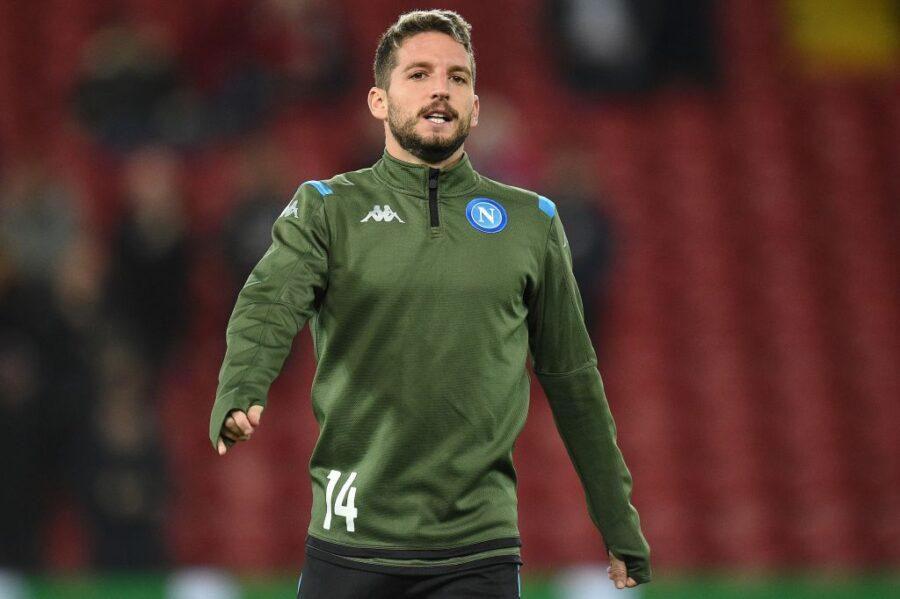 Calcio Napoli: Mertens in gruppo, Osimhen a riposo