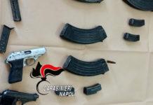 Parco Verde di Caivano, maxi sequestro di armi e droga in una casa