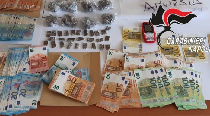 Melito, controlli dei Carabinieri: 2 arresti per droga e 7 denunce per ricettazione