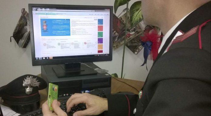 Caposele, mail phishing: smascherato un 26enne truffatore del web