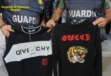 Traffico di abbigliamento contraffatto, smantellata organizzazione a Napoli