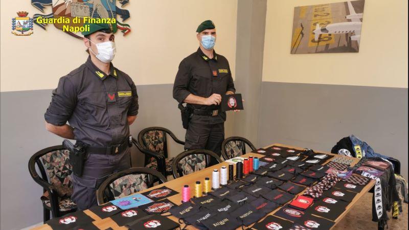 Forcella: sequestrata fabbrica clandestina di mascherine con