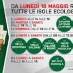 Asia Napoli: riaperte le isole ecologiche. Modalità di accesso, orari e punti di raccolta