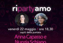 Nunzia Schiano e Anna Capasso ospiti sul web della nuova puntata di Ripartyamo