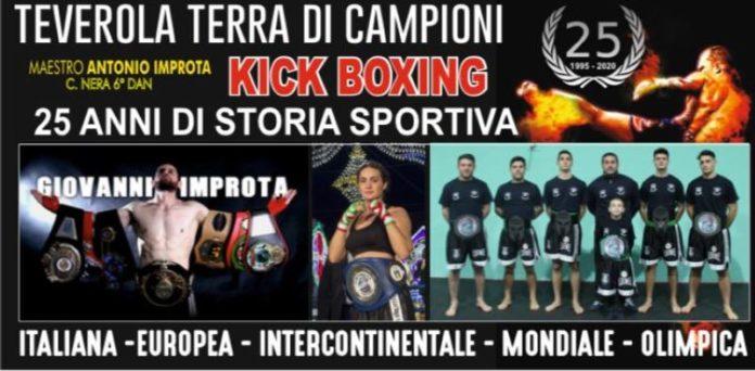 Teverola Terra di Campioni: la Boxing Improta celebra 25 anni di successi