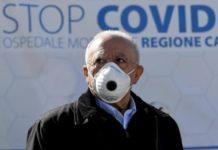"""De Luca: """"Sconcertante esclusione delle zone rosse della Campania dal fondo Covid"""""""