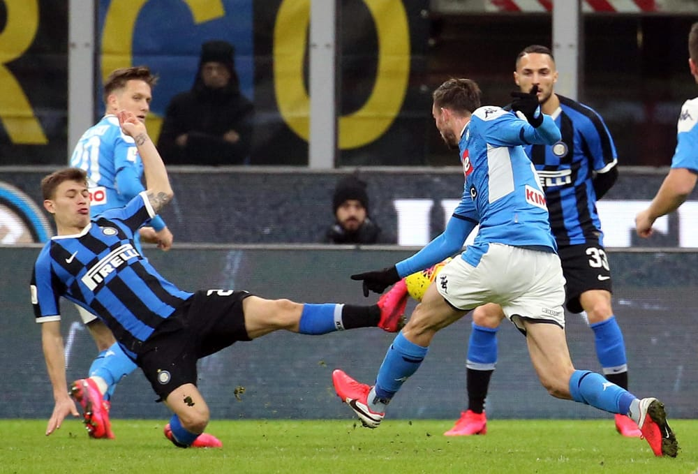 Inter-Napoli, probabili formazioni e dove vederla in streaming e tv
