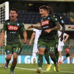 Un Calcio Napoli solido e concreto sbanca Verona. Di Milik e Lozano i gol degli azzurri