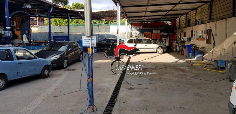 Casandrino: scoperto un autolavaggio con annessa concessionaria abusiva