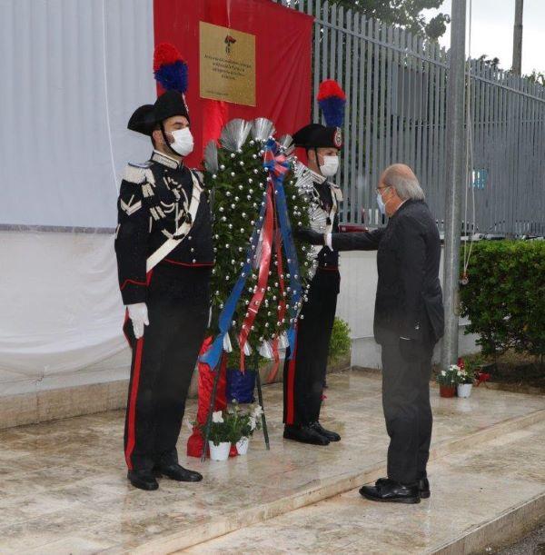 Caserta, la celebrazione dei 206 anni di storia dei Carabini