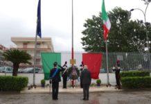 Caserta, la celebrazione dei 206 anni di storia dei Carabinieri: corone di alloro per i caduti
