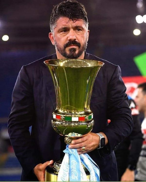 Calcio Napoli: sapienza tattica e grinta di Rino Gattuso sulla sesta Coppa Italia