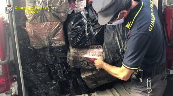 Bacoli, arrestati 2 contrabbandieri di sigarette: percepivano reddito di cittadinanza