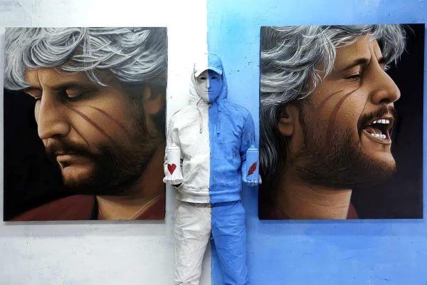 Napoli centrale, murale per Pino Daniele: accoglierà i viaggiatori