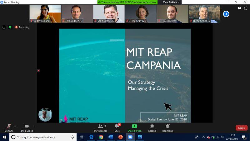 Mit Reap: ecco il programma del team regionale della Campania