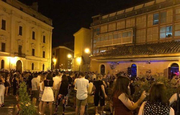 La movida a Benevento: comportamenti corretti ma alcuni casi sopra le righe