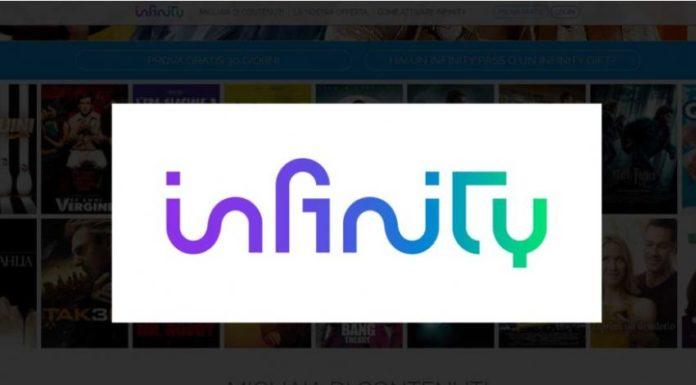 Infinity, ecco la lista delle nuove proposte per il mese di luglio