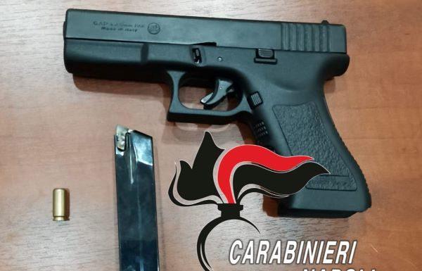 Ponticelli, arrestato un 34enne armato di una pistola a salve: IL NOME