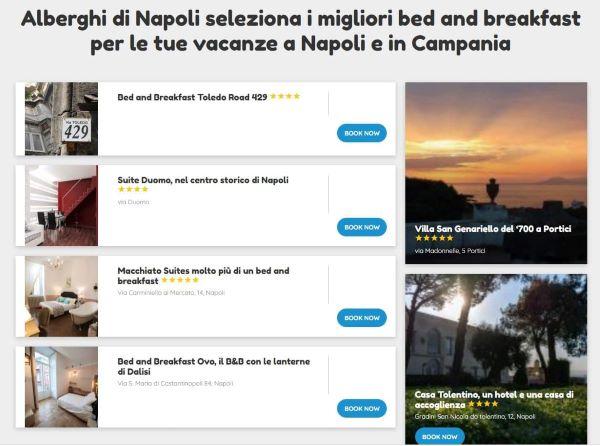 Alberghi di Napoli: la piattaforma IDN per prenotare le vacanze in Campania