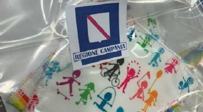 Regione Campania, Festa della Repubblica: distribuzione di mascherine gratis per i bambini