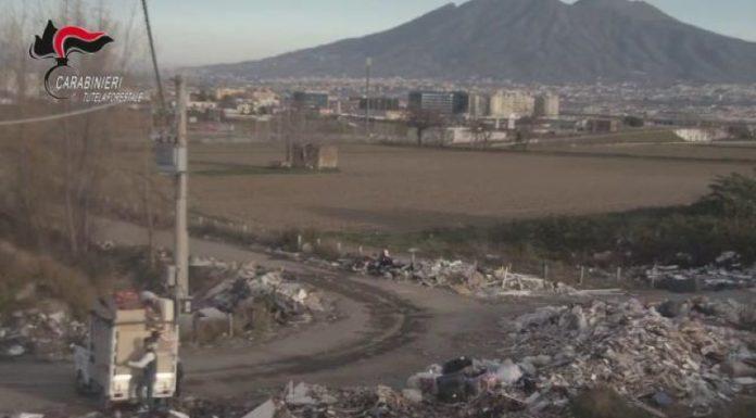 Afragola: denunciato un 26enne per sversamento illecito di rifiuti (VIDEO)