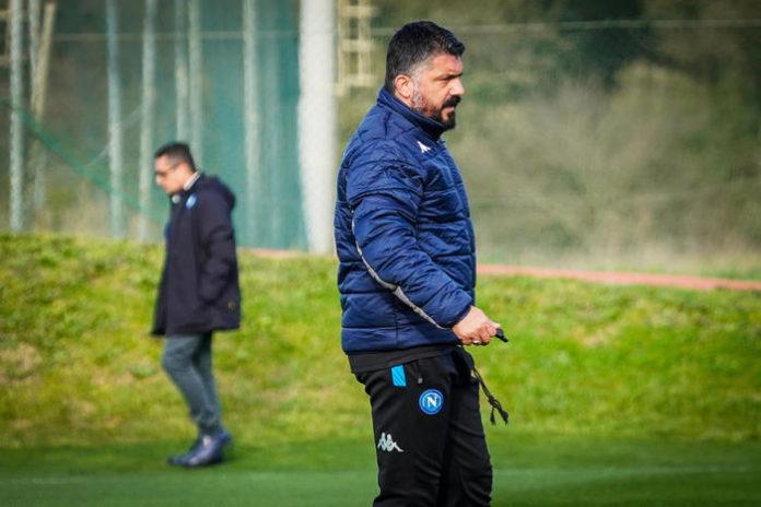 Calcio Napoli, a Castelvolturno un minuto di silenzio la sorella di Gattuso