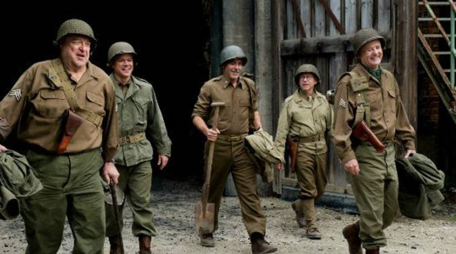 "Film stasera in tv, martedì 30 giugno: ""Monuments Men"" su Sky Cinema"