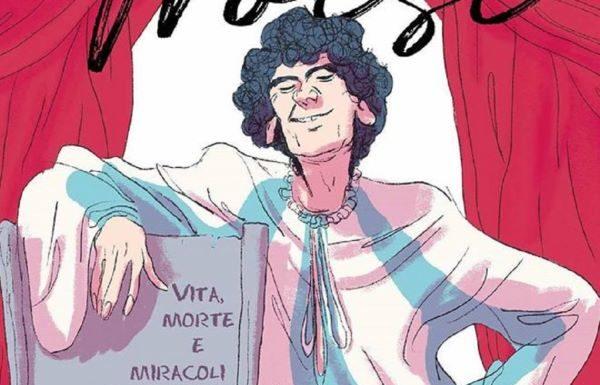 Massimo Troisi per sempre: la sua vita rappresentata in un fumetto