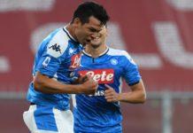 Il Calcio Napoli vince anche col Genoa. Di Mertens e Lozano i gol vittoria
