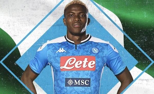 Calcio Napoli, lussazione spalla per Osimhen: dubbio Milan