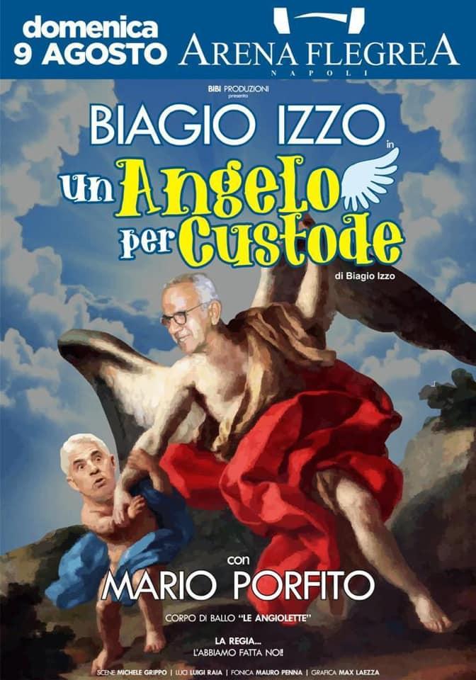 Eventi Napoli 8-9 agosto: Biagio Izzo all'Arena Flegrea