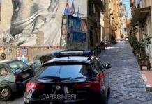 Quartieri Spagnoli, controlli da parte dei Carabinieri: sanzioni e denunce