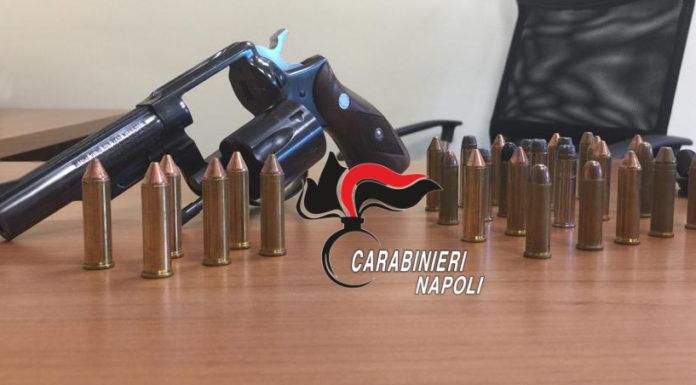 Scampia: trovati pistola e proiettili in casa, arrestato 28enne