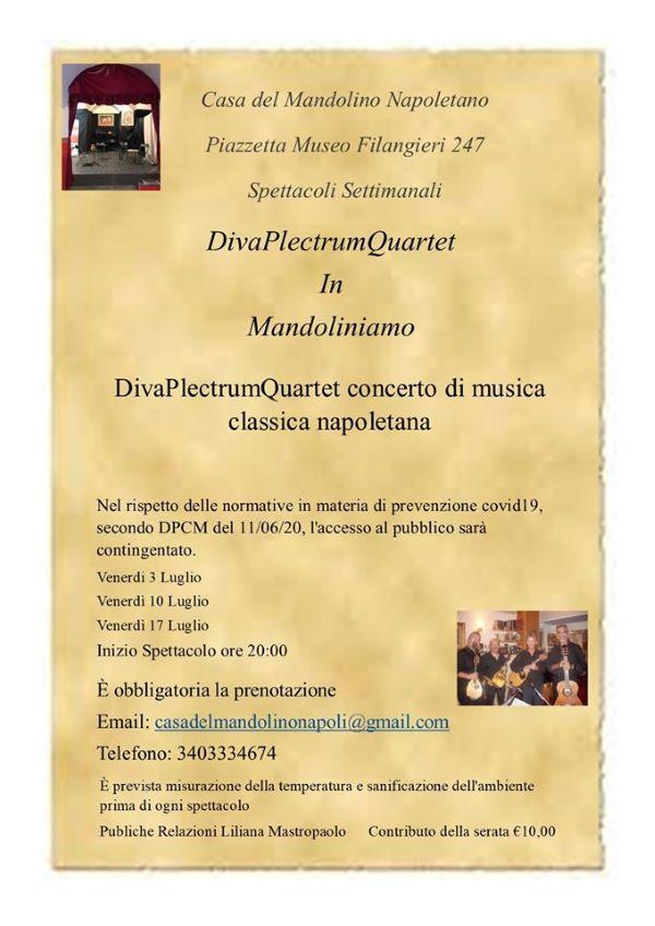 Mandoliniamo, successo per il Diva Plectrum Quartet: altre t
