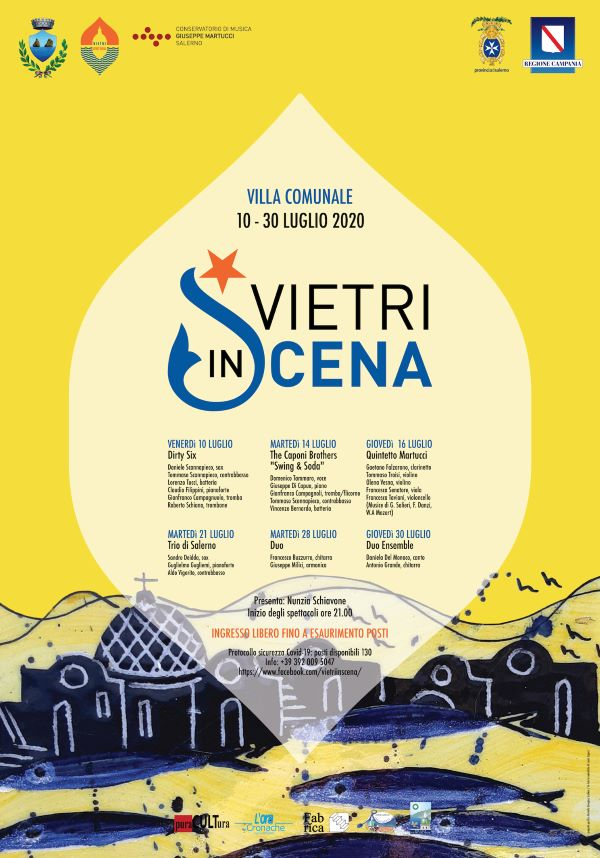 Vietri in Scena: sei appuntamenti gratuiti con la musica nella Villa comunale