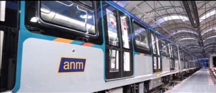 Anm: prima corsa notturna per il nuovo treno della Linea 1 della metropolitana (VIDEO)