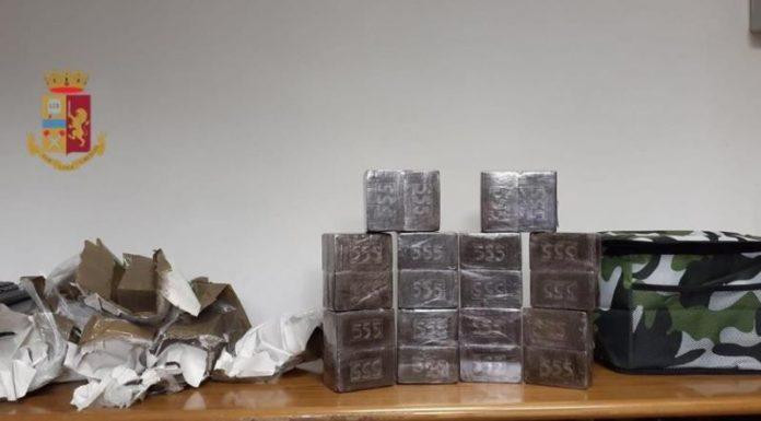 San Giovanni-Barra, sequestrati oltre 16 kg di hashish: due arresti
