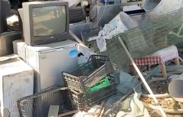 Scisciano, smaltimento illecito di rifiuti: sequestrato un terreno