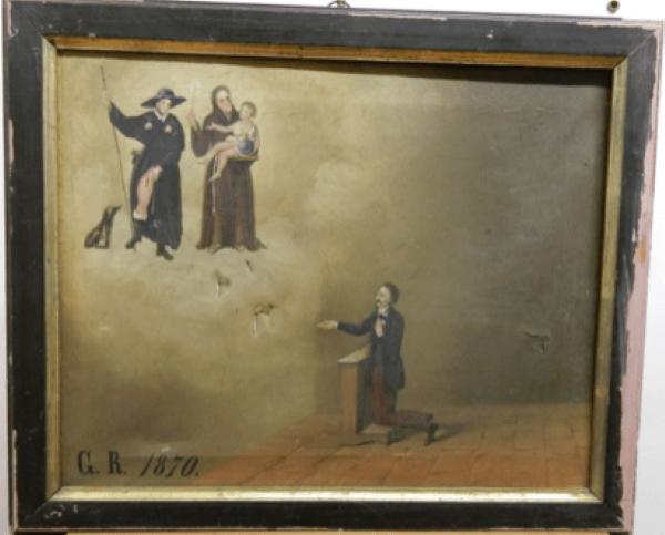 Napoli: Carabinieri restituiscono 50 dipinti ex voto alle Di