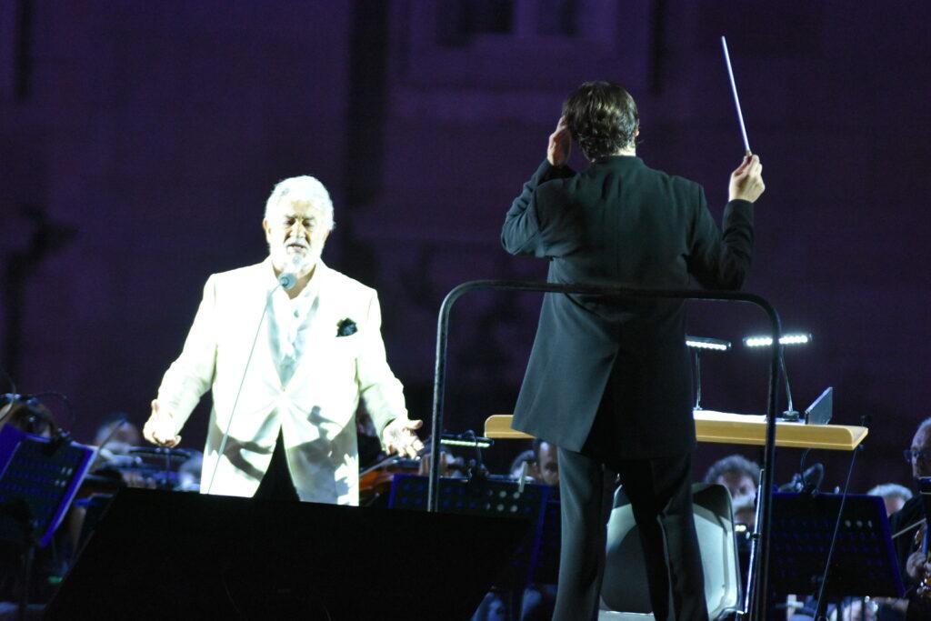 """Caserta, Placido Domingo in concerto per la rassegna """"Un'Estate da Re"""""""