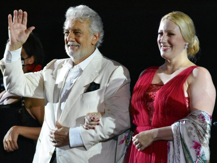 Caserta, Placido Domingo in concerto per la rassegna